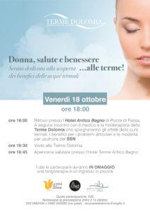 Donna Salute E Benessere Alle Terme Venerdi 18 Ottobre Ore 18 00 La Voce Delle Donne